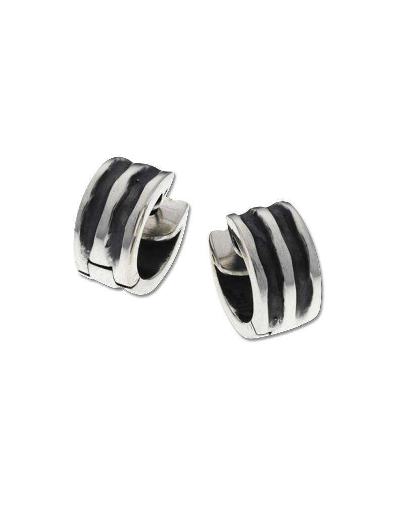 ZINA Waves Huggie Earrings 11mm