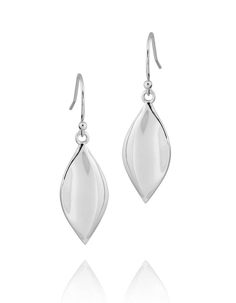 ZINA Small Leaf Earrings 21mm