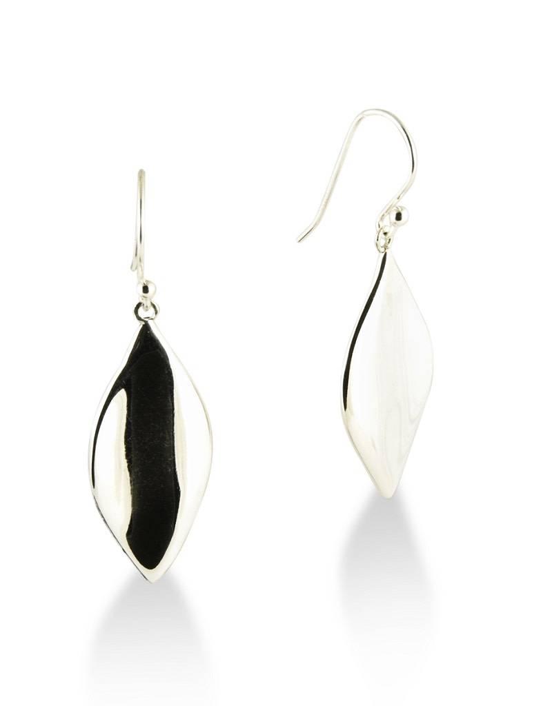 ZINA Leaf Earrings 30mm