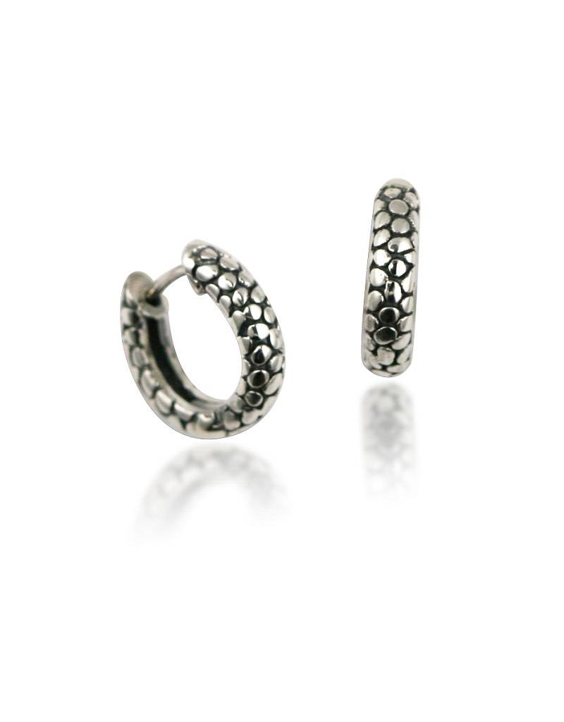 ZINA Stingray Huggie Earrings 14mm