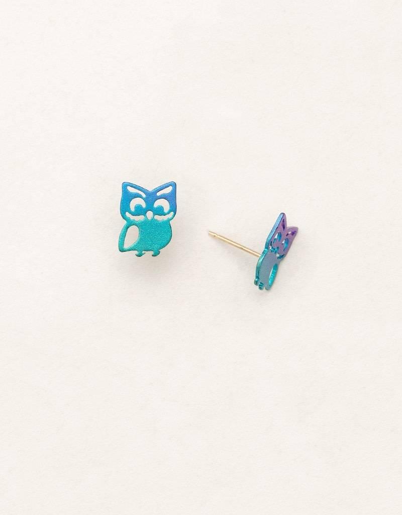 HOLLY YASHI Green Gloria Post Earrings *90114