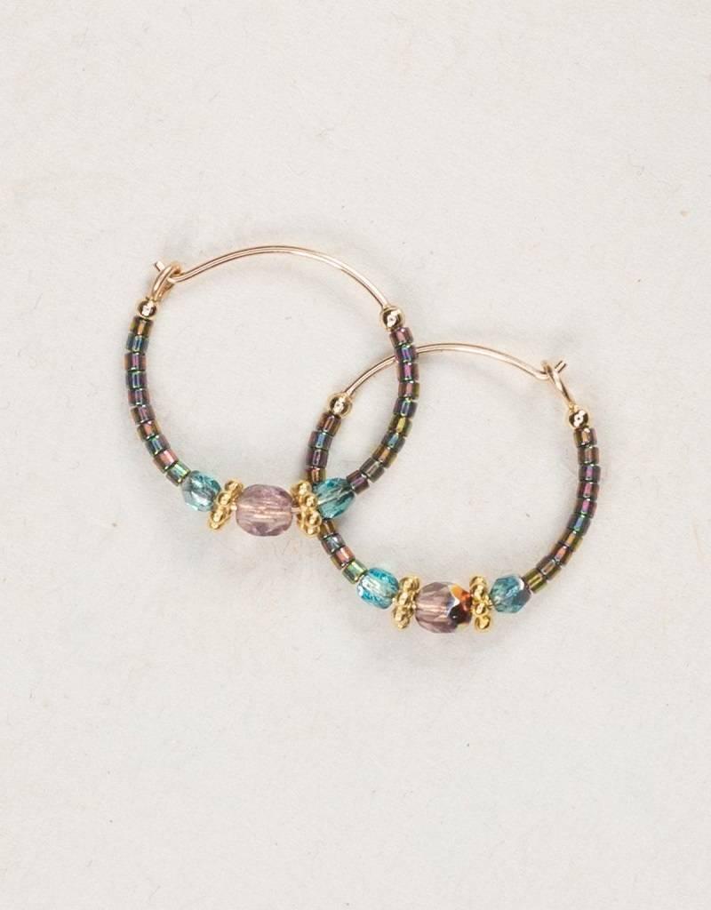 HOLLY YASHI Rainbow Mist Sonoma Hoop Earrings *95221
