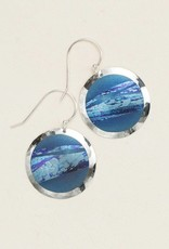 HOLLY YASHI Holly Yashi Blue Open Sea Earrings*70062