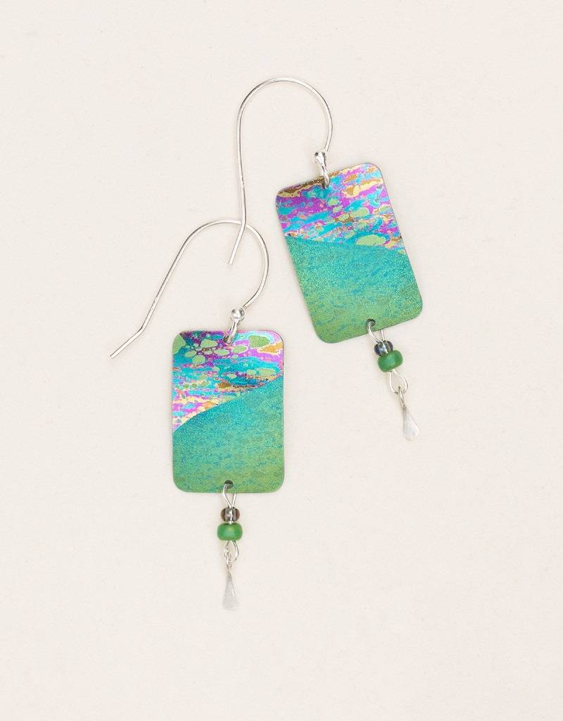 HOLLY YASHI Green Tideline Earrings *70035