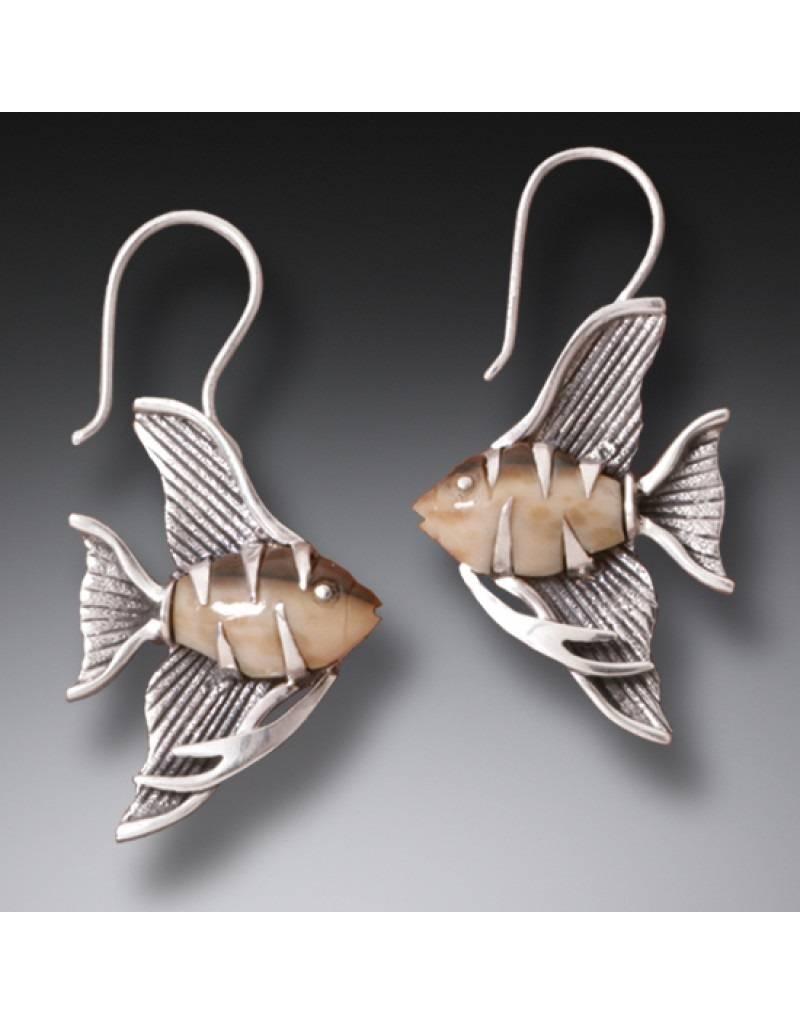 ZEALANDIA Angelfish Earrings