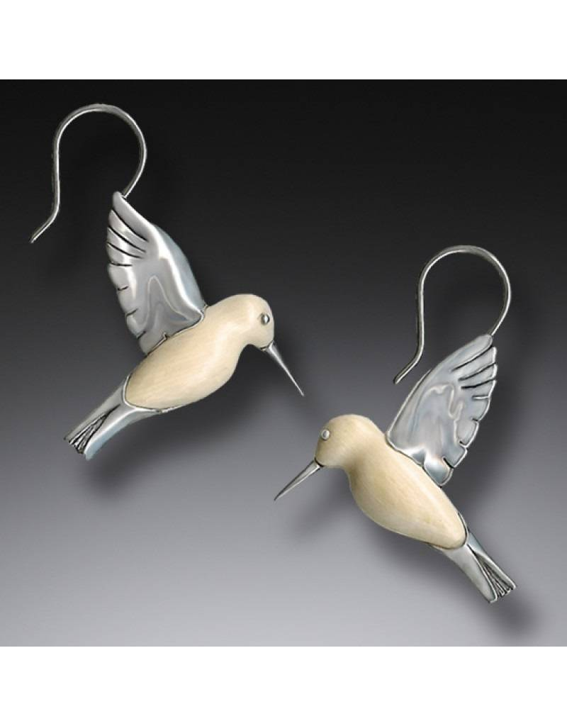 ZEALANDIA Hummingbird Earrings