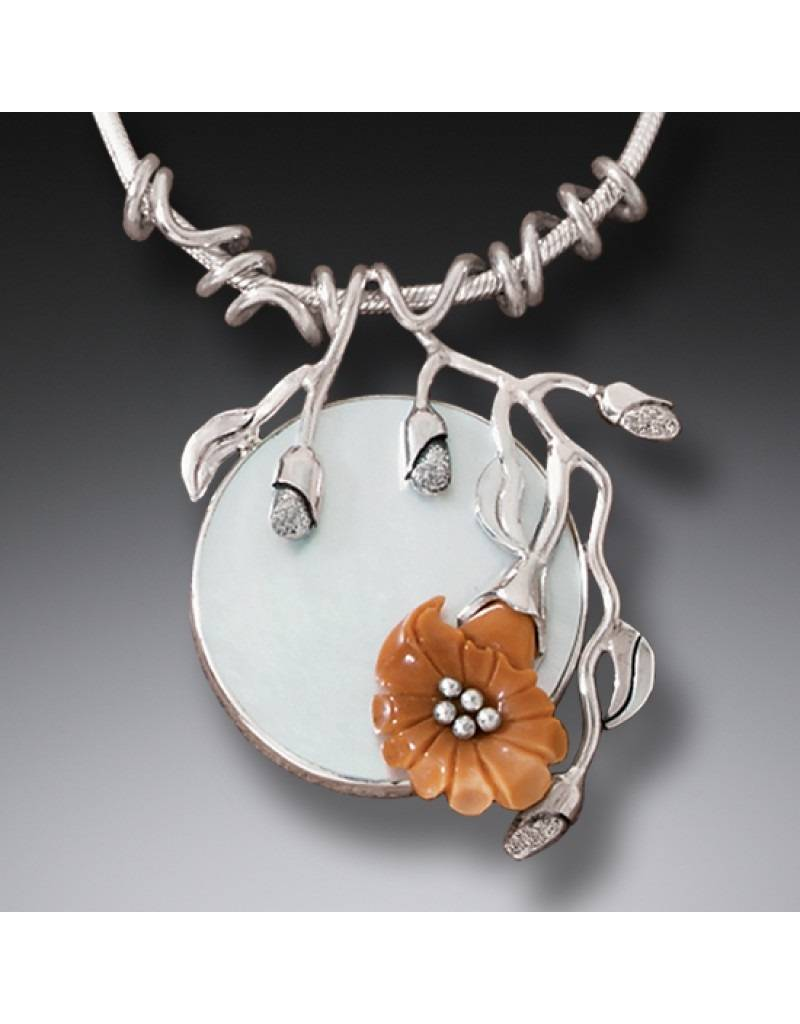 ZEALANDIA Moon Flower Pendant