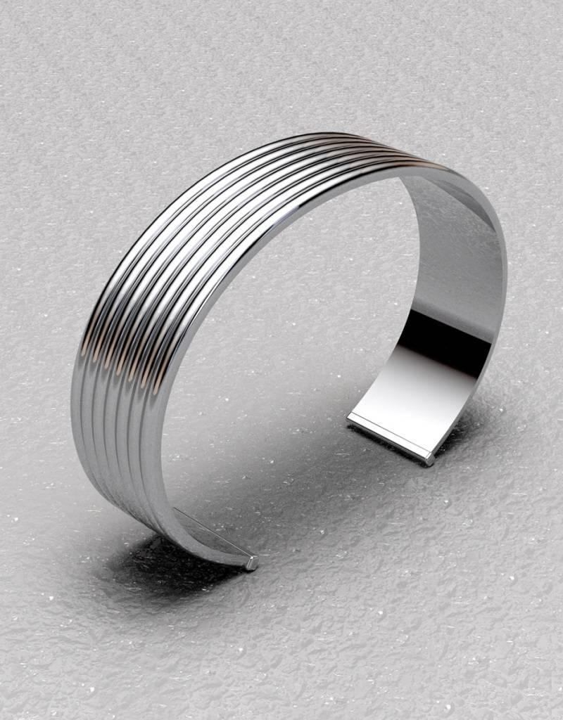 ZINA Ribbed Cuff Bracelet