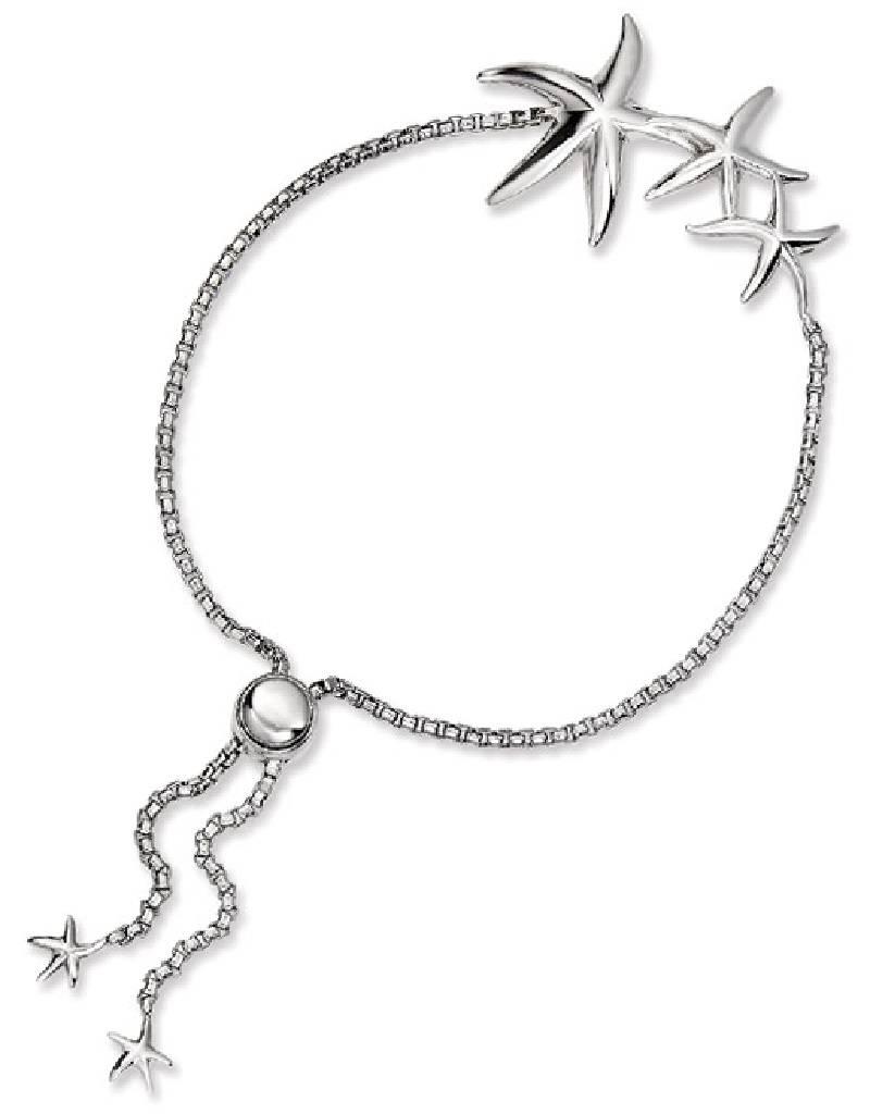 Starfish Adjustable Bolo Bracelet
