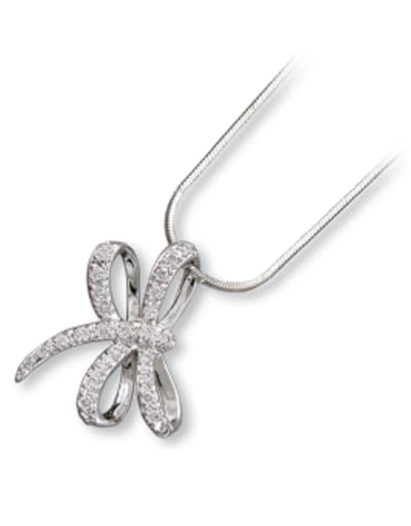 Dragonfly CZ Necklace