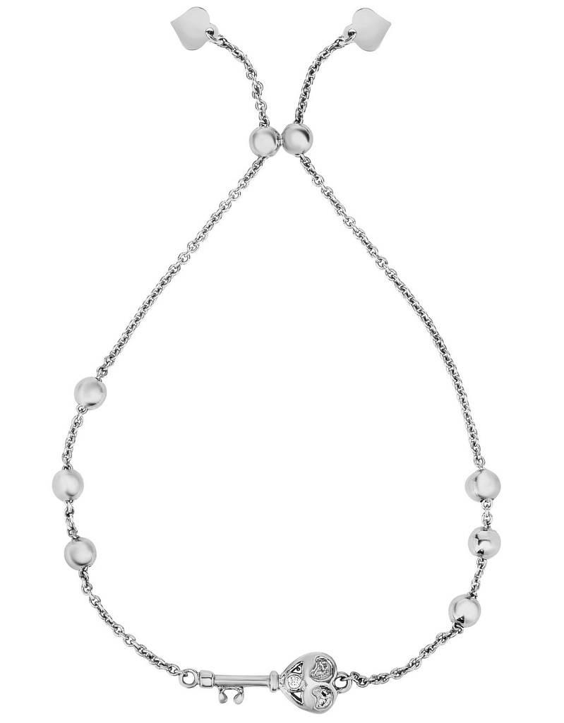 Key Adjustable Bolo Bracelet