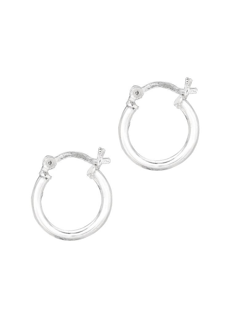 15mm Round Hoop Earrings