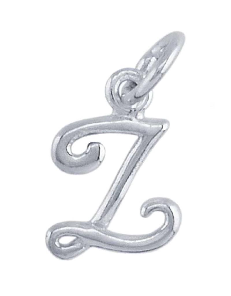 """Alphabet Charm """"Z"""" 10mm"""