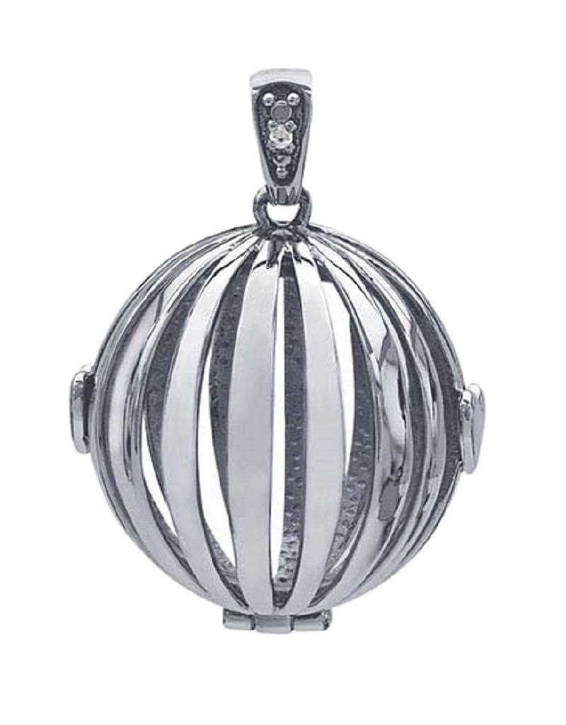 Round Cage Locket 22mm