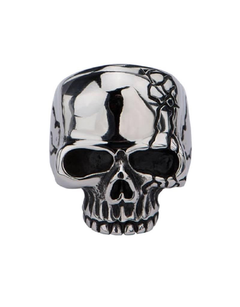 Steel Skull Ring