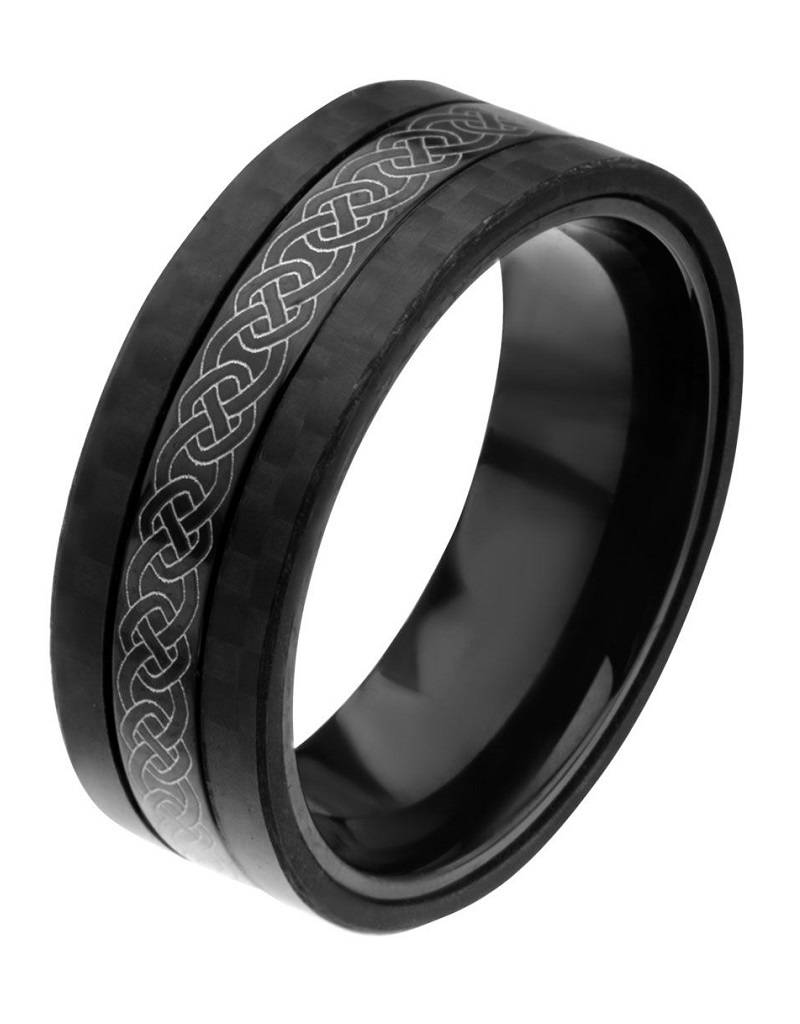 Celtic Steel Carbon Band
