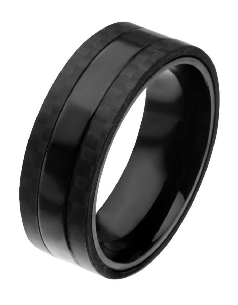 Steel Black Carbon Band