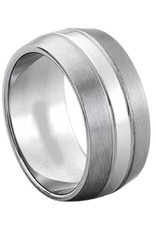 Men's Titanium Brushed Finish Band Ring