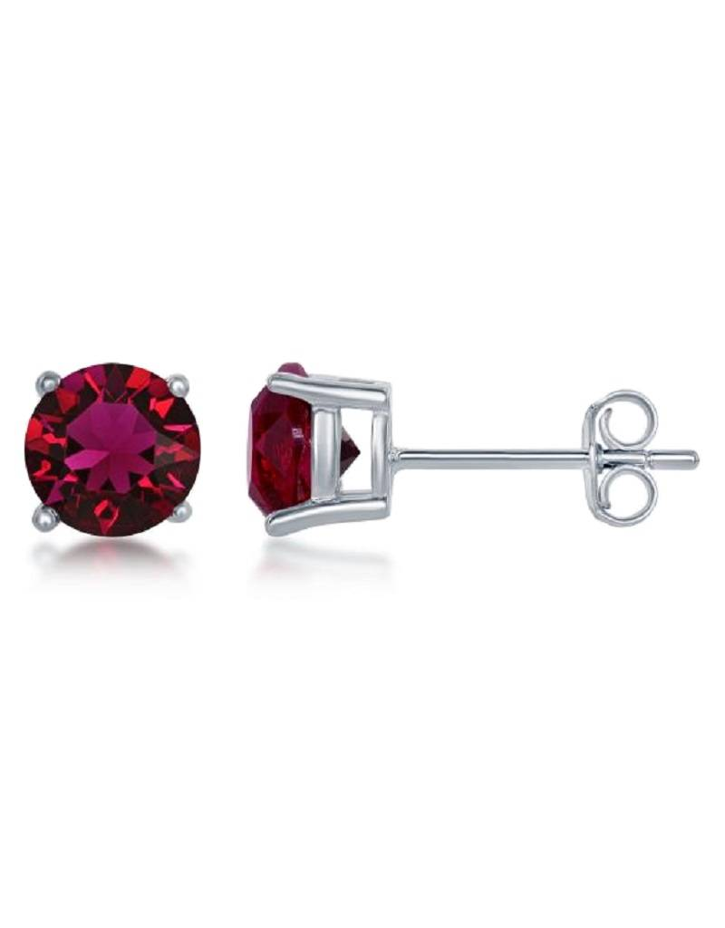 Round Swarovski Jul. Stud 6mm
