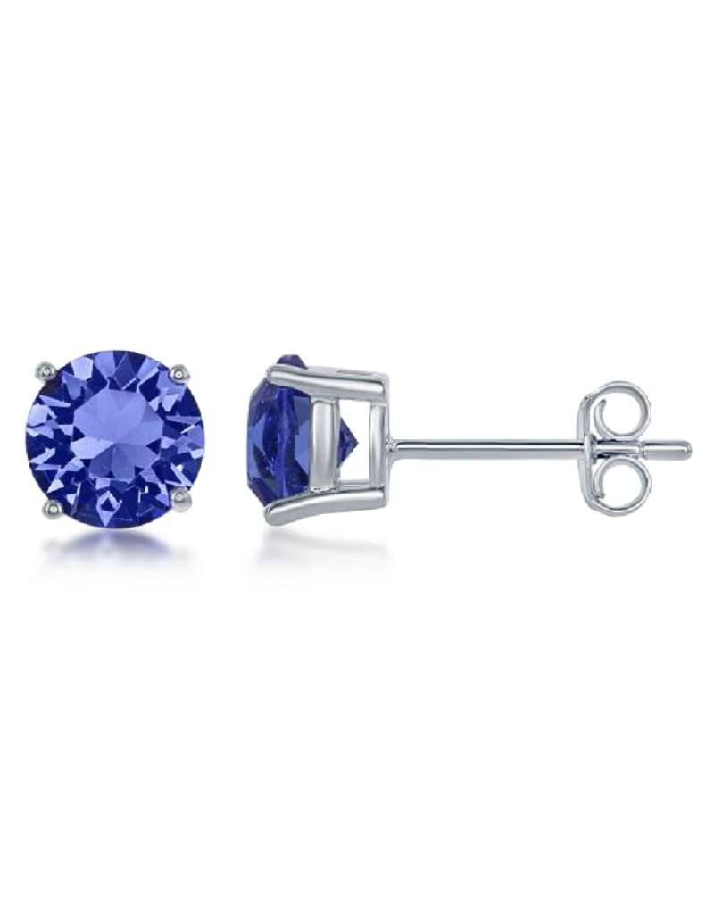 Round Swarovski Sept. Stud 6mm