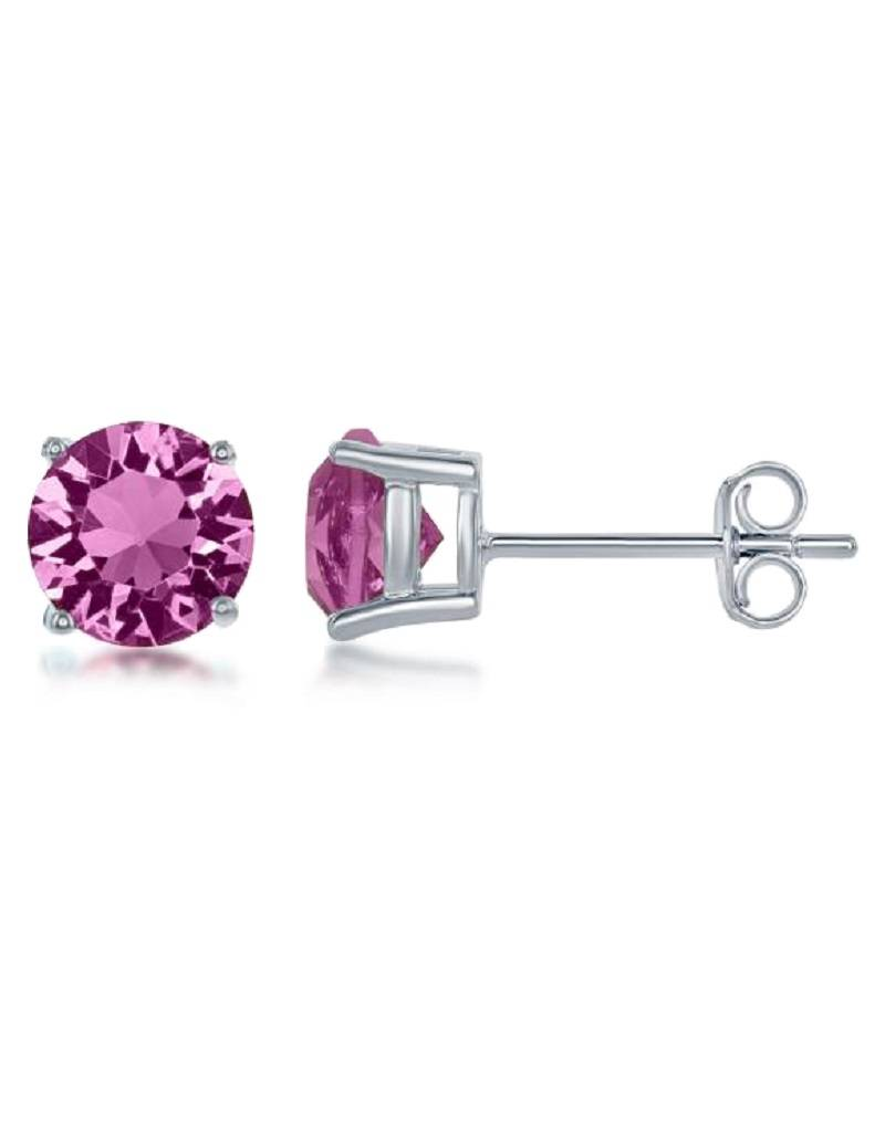 Round Swarovski Oct. Stud 6mm