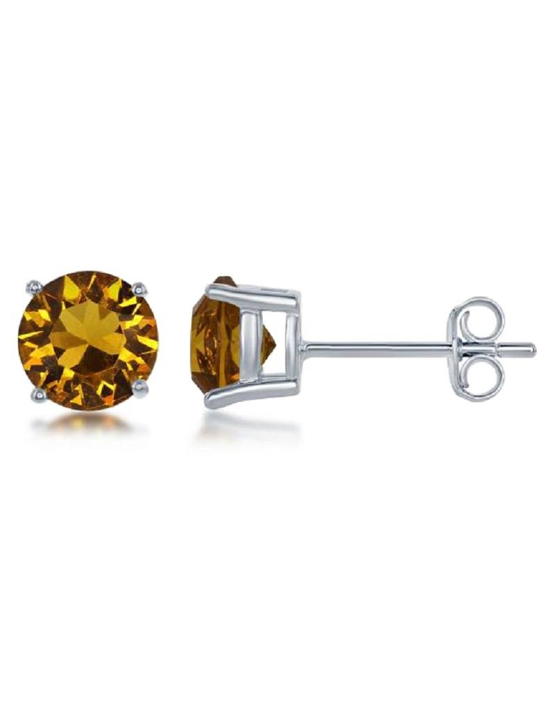 Round Swarovski Nov. Stud 6mm