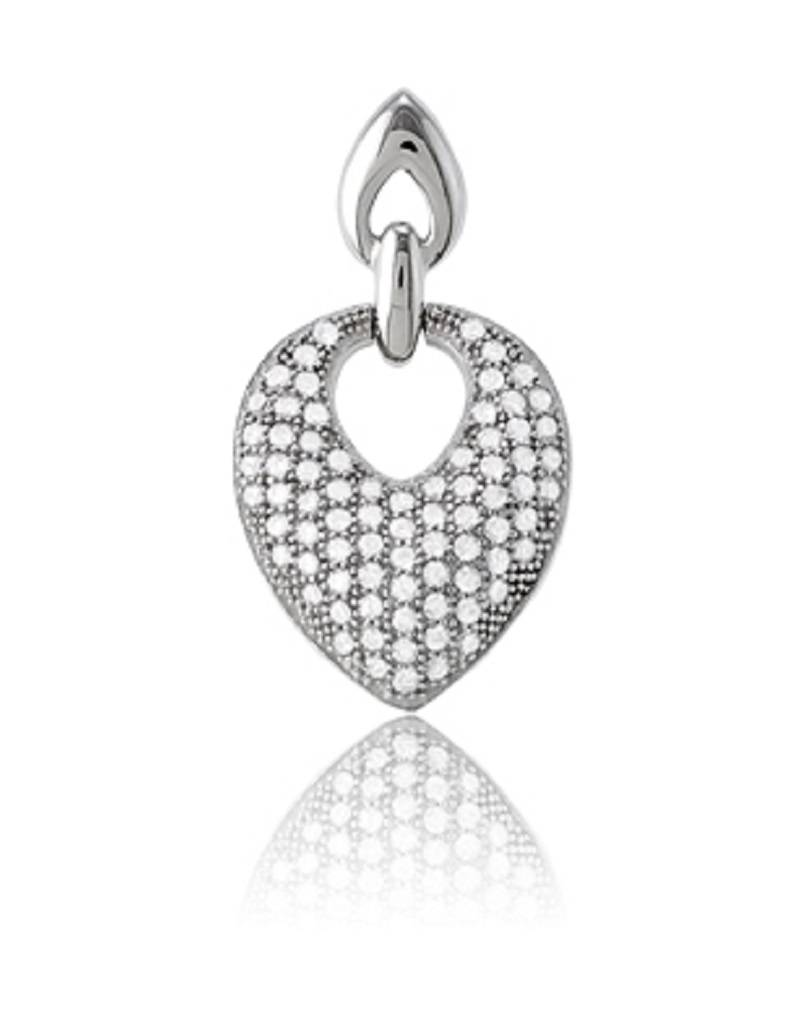 Micro Pave CZ Necklace 25mm