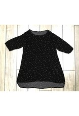 Cut Loose CUT LOOSE- 3/4 Sleeve Top Dots