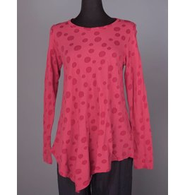 Cut Loose CUT LOOSE- Asymmetric Top in Cherry
