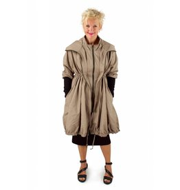 Lousje & Bean L&B- Bubble Coat- Taupe