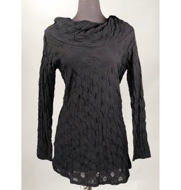 Boris BORIS- Long Sleeve Cowl in Blk