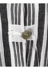 Lousje & Bean L&B- Linen Frouke Jacket Wht Stripe