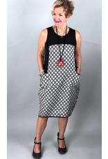 Lousje & Bean L&B-Waffle Dress in Dots