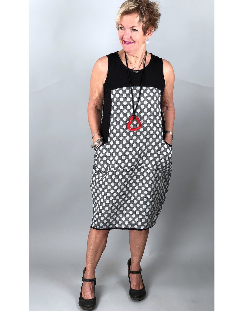 Lousje & Bean L&B- Waffle Dress in Dots