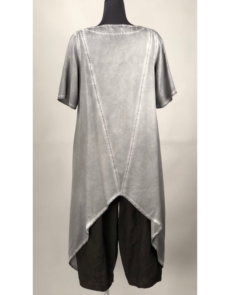 Kekoo KEKOO- Long Grey Tunic