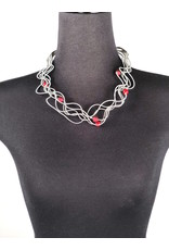 Sandrine Giraud Sandrine Giraud-Satellite Red Necklace