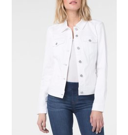 Liverpool Liverpool Jean Jacket-Bright White