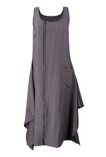 Lousje & Bean L&B-Zipper Dress in Grey