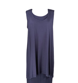 Lousje & Bean L&B-Loose Tank in Navy