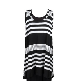 Lousje & Bean L&B-Loose Tank in Stripes