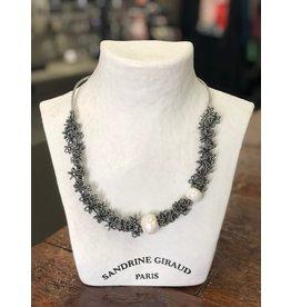 Sandrine Giraud Sandrine Giraud-Wire Flowers Necklace