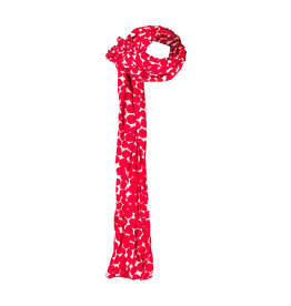 Lousje & Bean L&B Silk Scarf in Red Dots