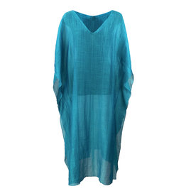 Lousje & Bean L&B-Kaftan Dress Turquoise