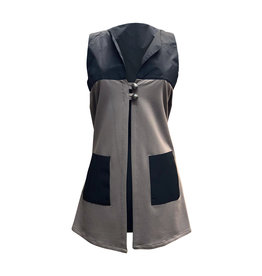Lousje & Bean L&B- Bamboo Button Vest