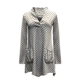 Lousje & Bean L&B-Aline Tunic in Beige Dot