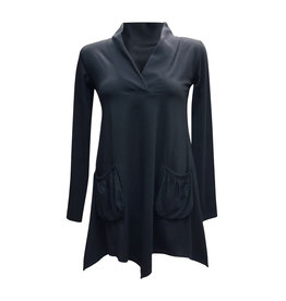 Lousje & Bean L&B-Aline Tunic in Black