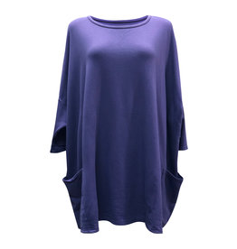 Cut Loose Cut Loose-Pullover in Eggplant