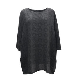 Cut Loose Cut Loose-Dot Pullover in Black