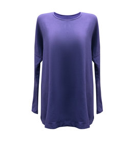 Cut Loose Cut Loose-Boxy Top in Eggplant