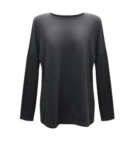 Cut Loose Cut Loose-Boxy Top in Black